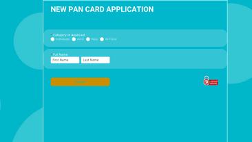 NEW PAN CARD APPLICATION