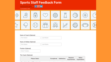 FormTitan  Feedback Form Template