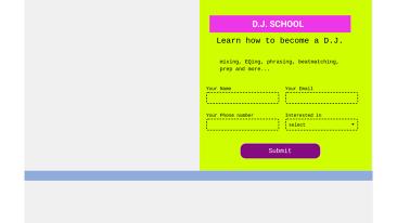 D.J. School